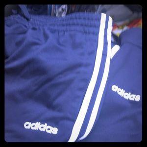 Adidas women jogging track suit